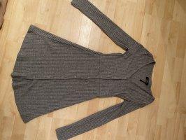 Bershka Vestido de tela de sudadera gris