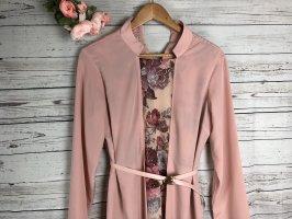 Kleid Abendkleid Floral mit Gürtel Neu Gr 42 Modanisa