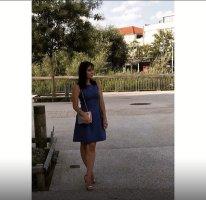 Pimkie Balloon Dress blue
