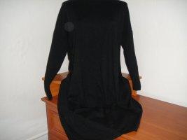 Chic & Mit Gebreide jurk zwart
