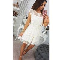Kleid Creme Größe M