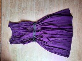 Kleid DKNY Violett Gr. S, 38 Seide