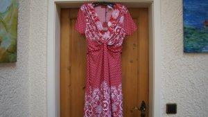 #Kleid, Gr. 34, #rot-weiß, #NEU, #Vivien Caron