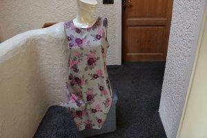 Chillytime Sukienka z dżerseju zielono-szary-purpurowy Bawełna