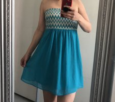 Only Off-The-Shoulder Dress turquoise