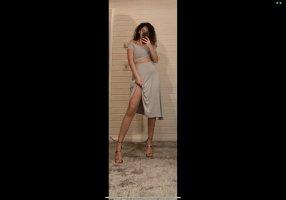 addax Midi Dress grey