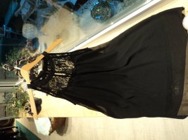 Kleid, kurzes, schwarzes Kleid mit Spitze, Neu!