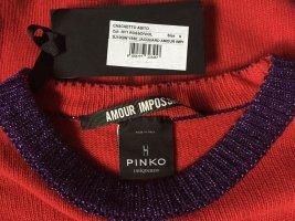 Pinko Vestido de lana multicolor