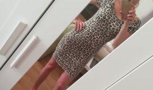 Kleid Leoprint