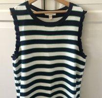 Kleid M weiß blau grün