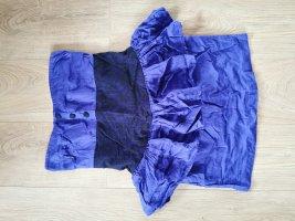 Kleid Mini Spitze Knopfleiste
