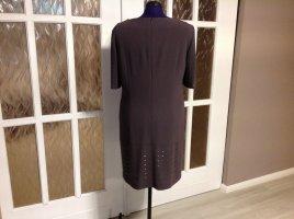 Laurèl Shortsleeve Dress khaki textile fiber