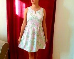 Kleid mit Palmenblätter Druck Vero Moda Grösse 36