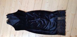 Vestido de noche negro Poliéster
