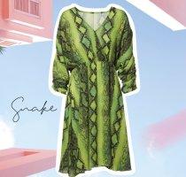 Kleid mit snakeprint