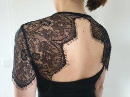 Kleid mit Spitze und raffiniertem Rückenausschnitt Gr. 36
