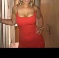 Kleid orange 90 er Versace Look