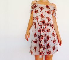 Collectif Mini Dress red-gold-colored