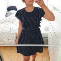 Kleid suncoo paris neu blau gold knöpfe