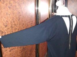 H&M Robe bustier noir-brun sable polyester