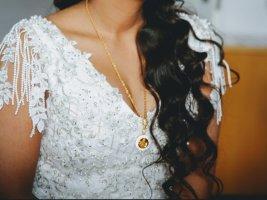 0039 Italy Robe trapèze blanc