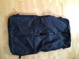 Kleidersack schwarz Kleidertasche Schultergurt Anzugtasche lang