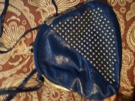 Kleine blaue Tasche, vintage