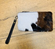 Kleine Clutch mit Fell Kuhfell Style