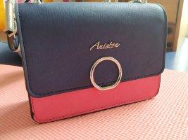 Aniston Minitasje donkerblauw-roze