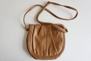 kleine Handtasche cognacbraun H&M