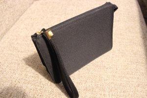 Kleine schwarze Versace Abendtasche