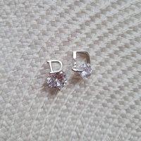 Designerstück Ear stud silver-colored