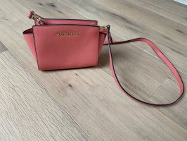 Michael Kors Crossbody bag bright red-salmon