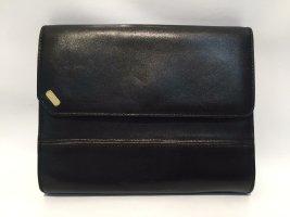 Kleine Vintage Bally Handtasche Clutch - Leder -  schwarz