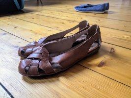 KMB Slipper in Cognac