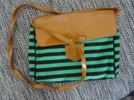 Knallige Handtasche/Clutch von Friis & Company mit Reißverschluss