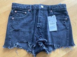 Knappe Jeansshorts von ZARA