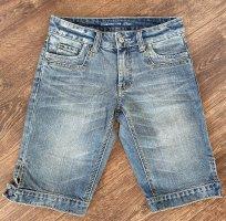 s.Oliver Short en jean bleu azur