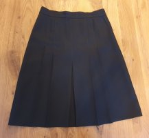 C&A Pleated Skirt black polyester