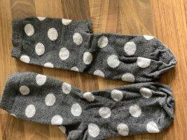 Legwarmers dark grey-light grey
