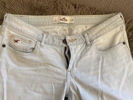 Hollister 7/8-broek wit-azuur Katoen