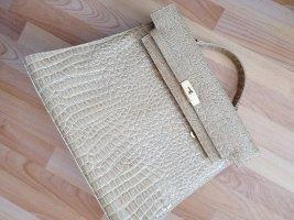 Briefcase sand brown-cream