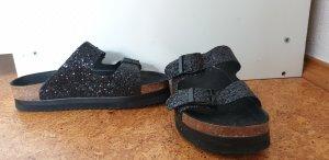 Esprit Sandalo comodo nero-marrone