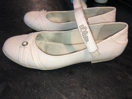 s.Oliver Ballerina's met bandjes wit