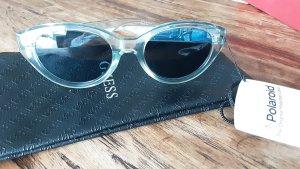Komono Okrągłe okulary przeciwsłoneczne jasnoszary