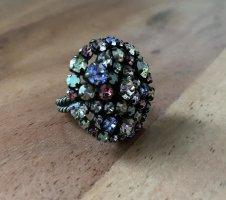 Konplott Ring with Decorative Stone multicolored