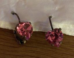 Konplott Ohrringe Pink Herz