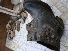 KONSTANTIN STARKE NEW YORK BOOTS STIEFEL LEDER COUNTRY COWBOY WESTERN 36/37 NEUPREIS 299 €!!! Farbe: Antik-Grau!!! Grey!!! STIEFEL STIEFELETTEN ECHTLEDER NEU!!! NEUPREIS/UVP 299 EURO!!! BIKERBOOTS COUNTRY COWBOYBOOTS WESTERNSTIEFEL NIETEN REISSVERSCHLUSS.