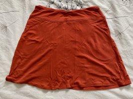 KOOKAI orangeroter Minirock