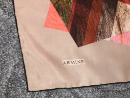 Armine Foulard en soie multicolore
